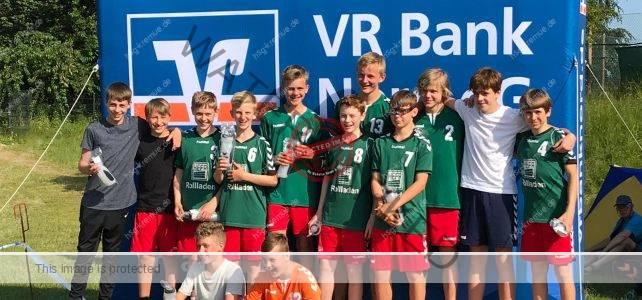 mJC1: 1. männliche C-Jugend belegt den 2. Platz auf dem Turnier in Jübek